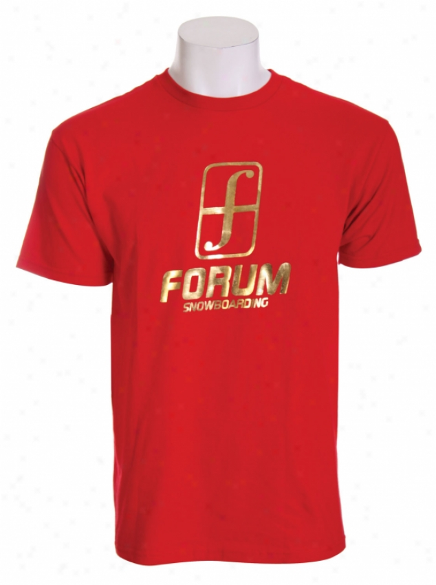 Forum Holiday 14k T-shirt Red