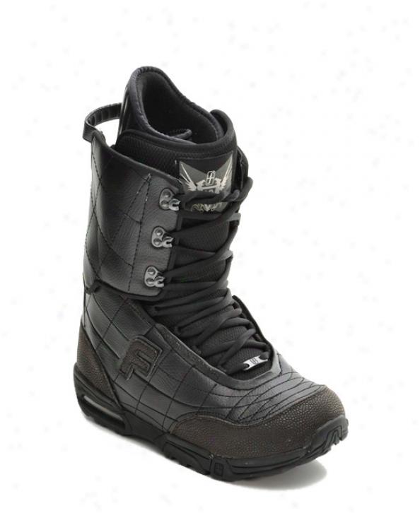 Forum Kicker Snowboard Boots Black