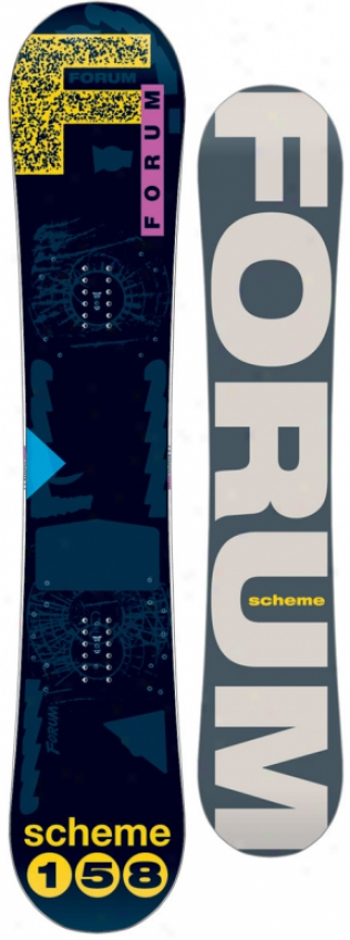 Forim Scheme Snowboard 158