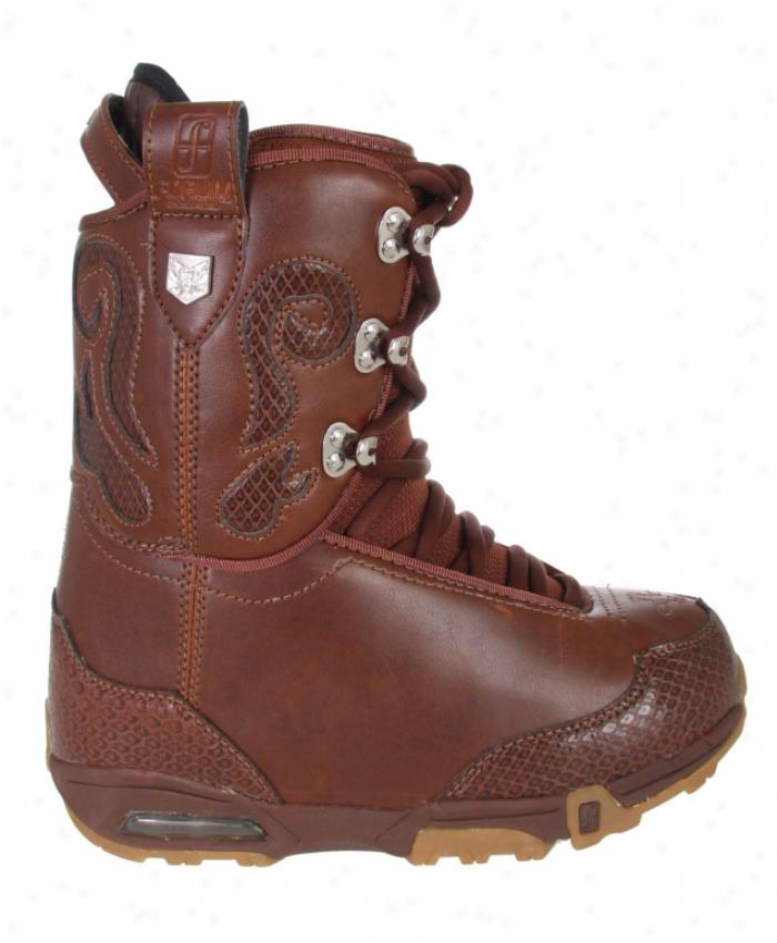 Fodum Stampede Snowboard Boots Brown