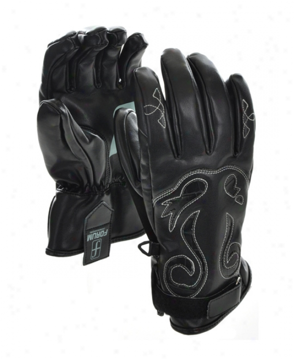 Forum Stampede Snowboard Gloves Black