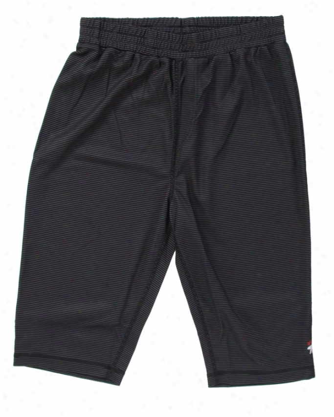 Foursquar First Stratum Pants Black Future Stripe