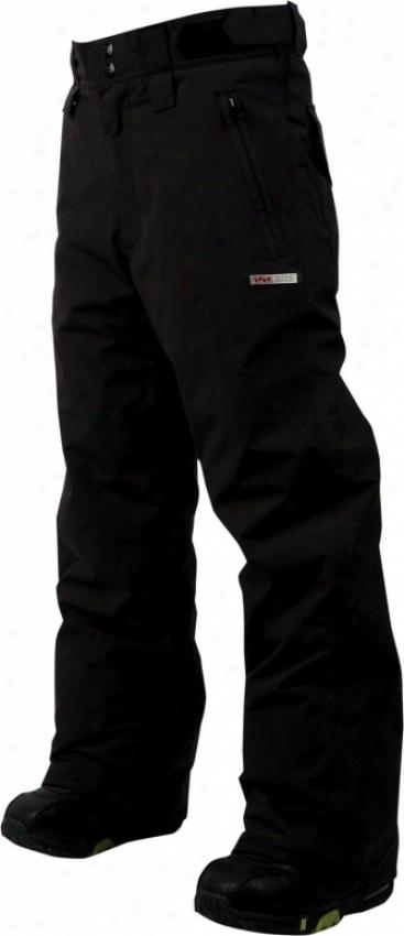 Foursquare Lil Wong Snowboard Pants Black