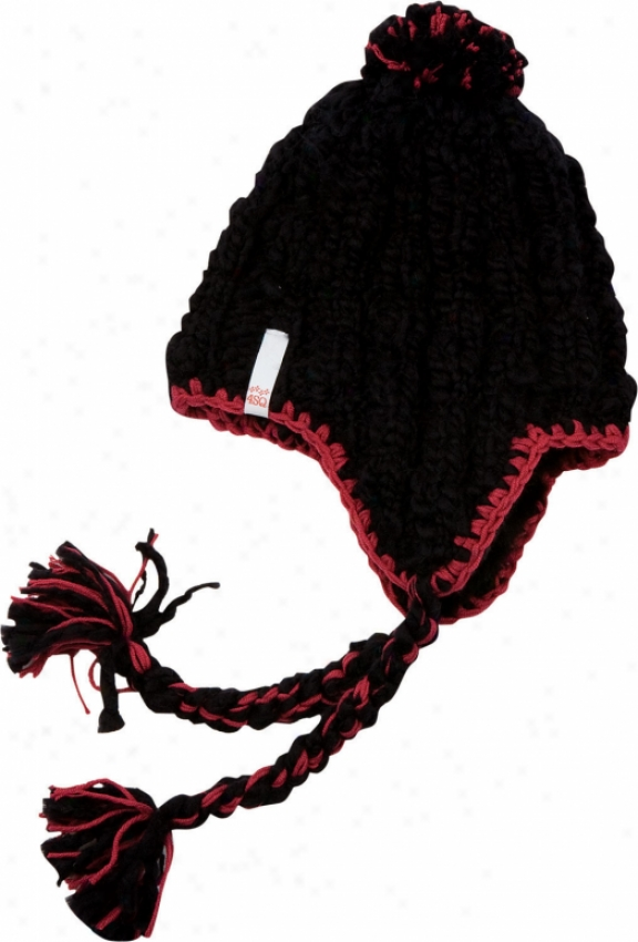 Foursquare Sew Beanie Black