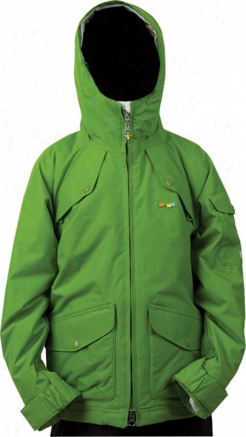 Foursquare Tobl Snowboard Jacket Bamboo