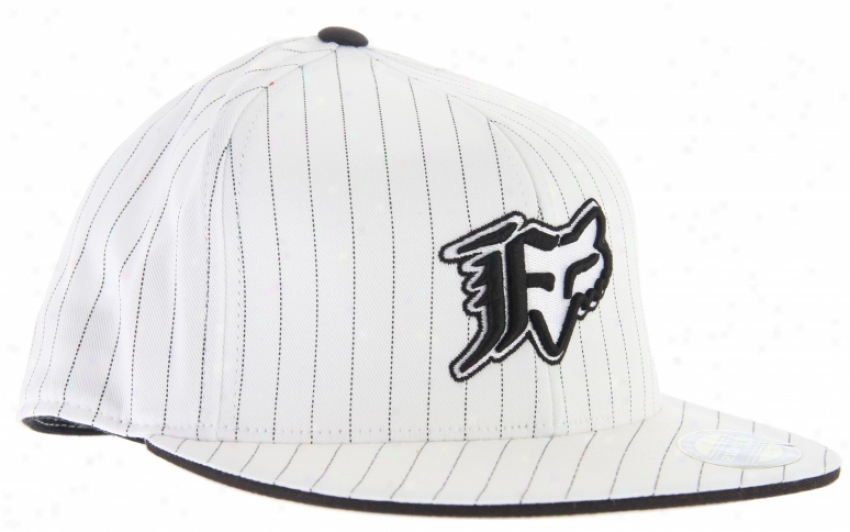 Fox Vip Stripe 210 Hat White