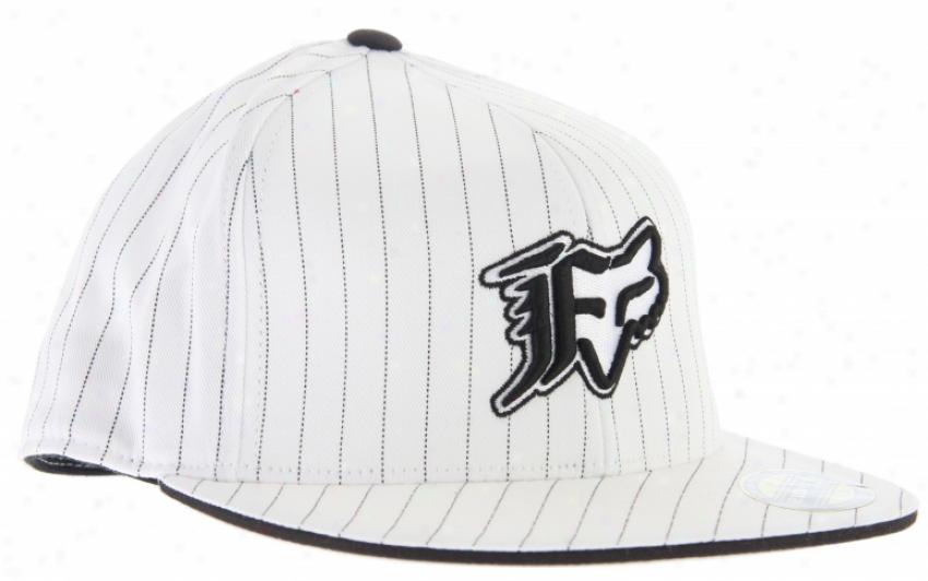 Fox Vip Stripe 210 Hat White