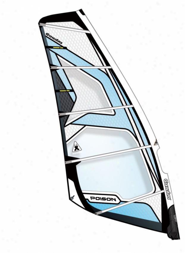 Gaastra Pooison Windsurfing Sail 6.2