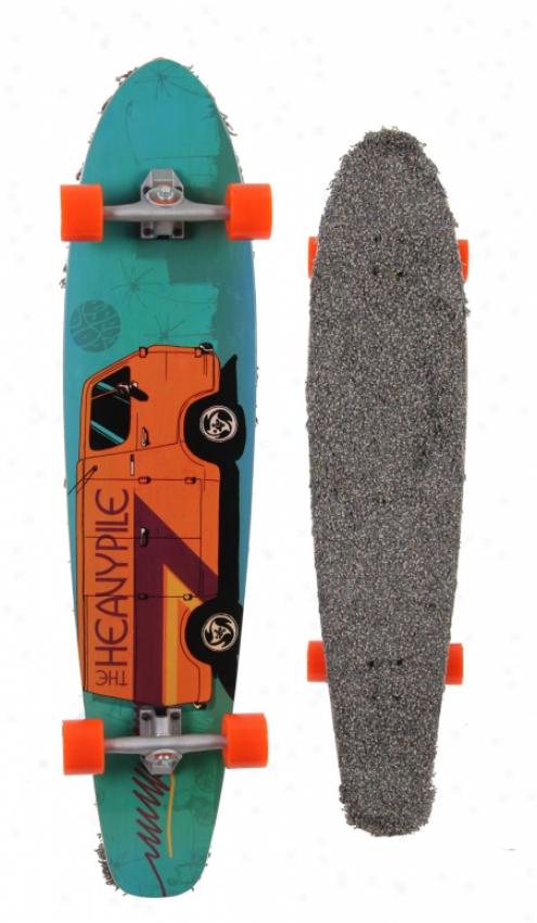 Goldcoast Heavy Pile Dart Longboard Skateboard Complete