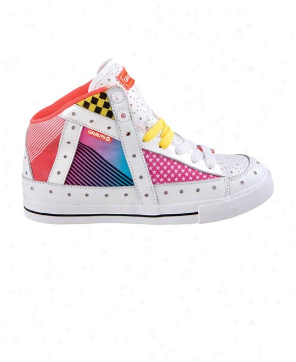 Gravis Gemini Hi Skate Shoes 80s