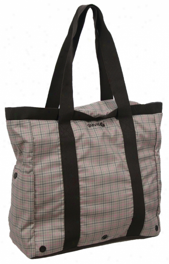 Gravis Hampton Bag Pink Plaid