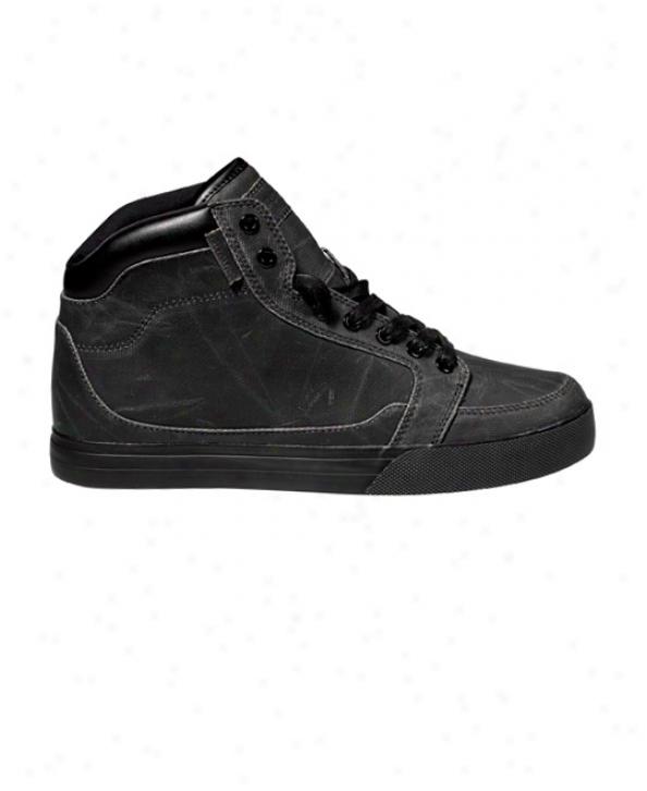Gravis Lowdown Hi Cut Lx Skate Shoes Black Cere