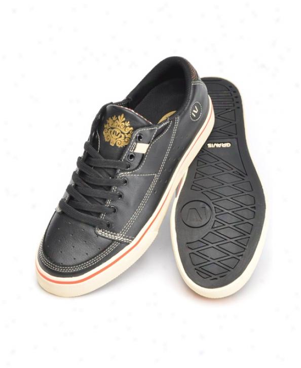 Gravis Tarmac Vulc Lx Skate Shoes Black Vanlla