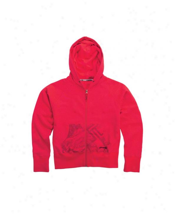 Gravis Transit Hoodie Red Miceodot