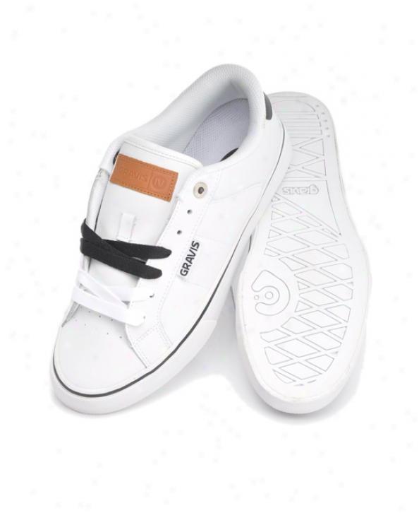 Gravis Winsor Skate Shoes White