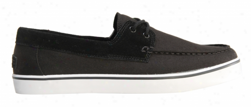 Gravis Yachtmaster Skate Shoes Black