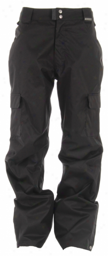 Grenade Army Corps Snowboard Pants All Black