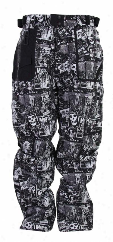 Grenade Fiend Snowboard Pants Black