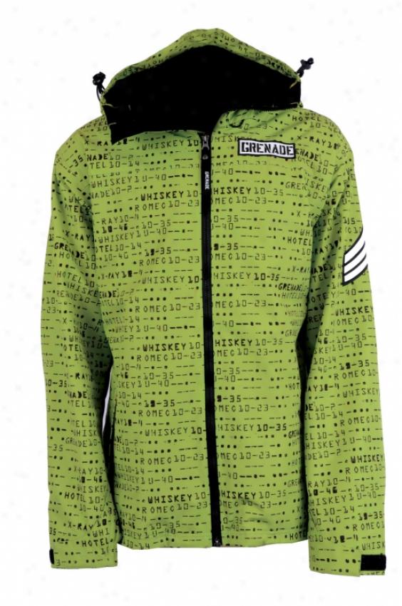 Grenade Matrix Snowboard Jacket Slime