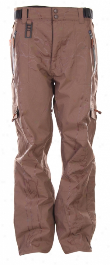 Grenade Unbreakable Snowboard Pants Brown