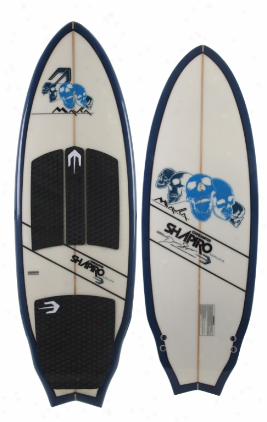 "Grindwater Mauka Wakesurf Board 5'6"""