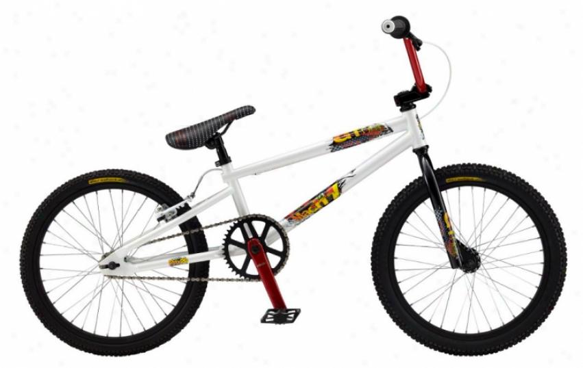 "Gt Mach Individual Pro White Bmx Bike White 20"""