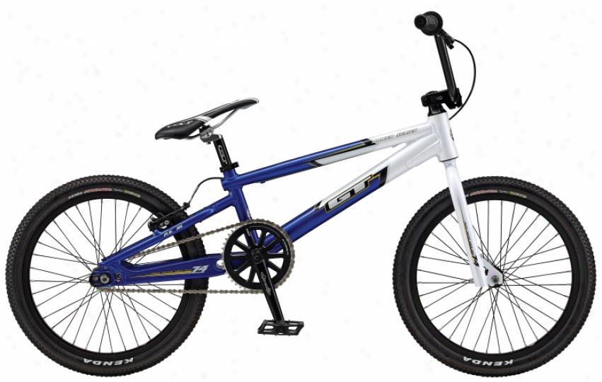 "Gt Power Succession Xl Bmx Bike White/blue 20"""