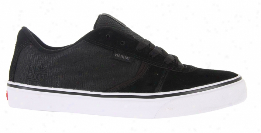 Natural locality Lark Skate Shoes Black