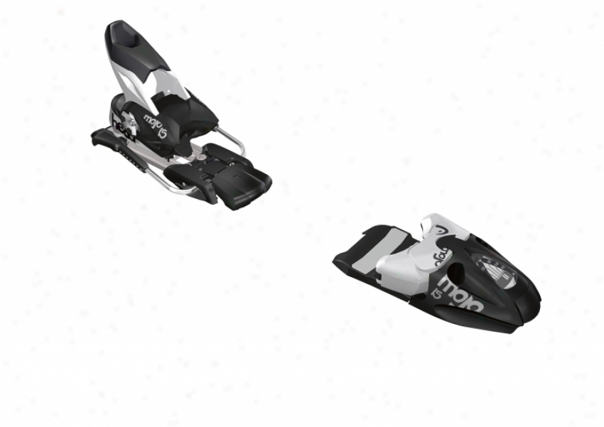 Head Mojo 15 Wide Ski Bindings Matte Black/silver 97mm