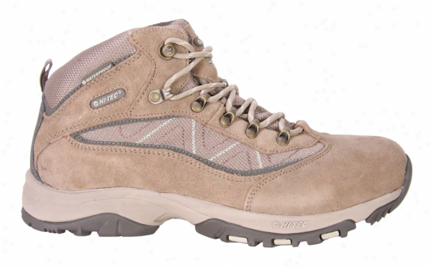 Hitec Cliff Run  Wp Hiking Shoes Former Moss/taupe/bamboo