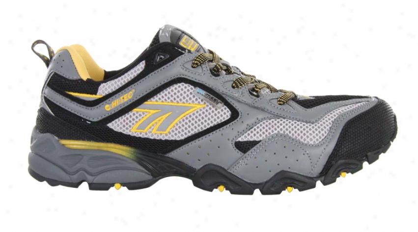 Hitec Crosswind Hpi Hiking Shoes Grey/black/yellow