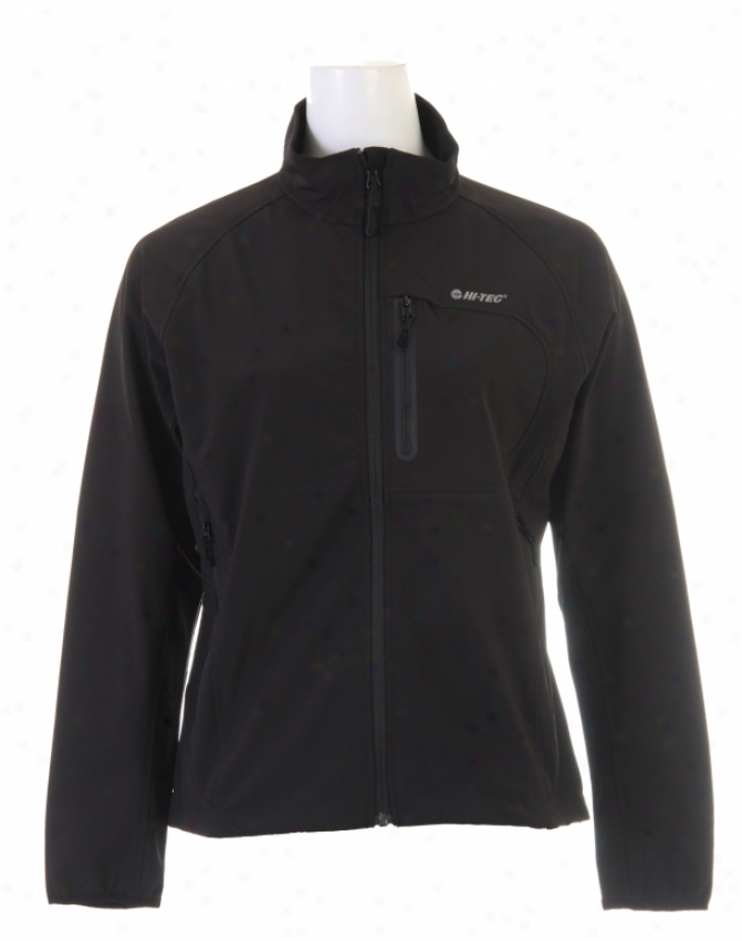 Hitec Obscure Mountain Softshell Jacket Black