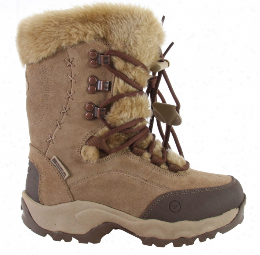 Hitec St Moritz 200 Casual Boots Brown/cream