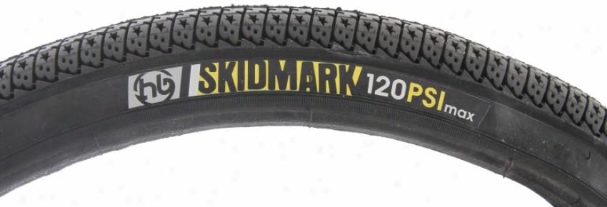 Hoffman Skidmark Tire Black 20x1.95 120psi