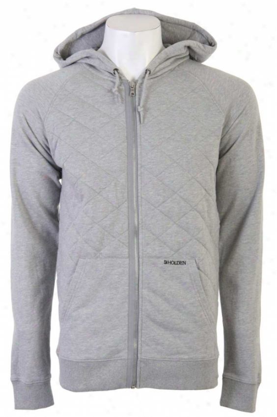 Holden Douglas Insulated Hoodie Heather Gray