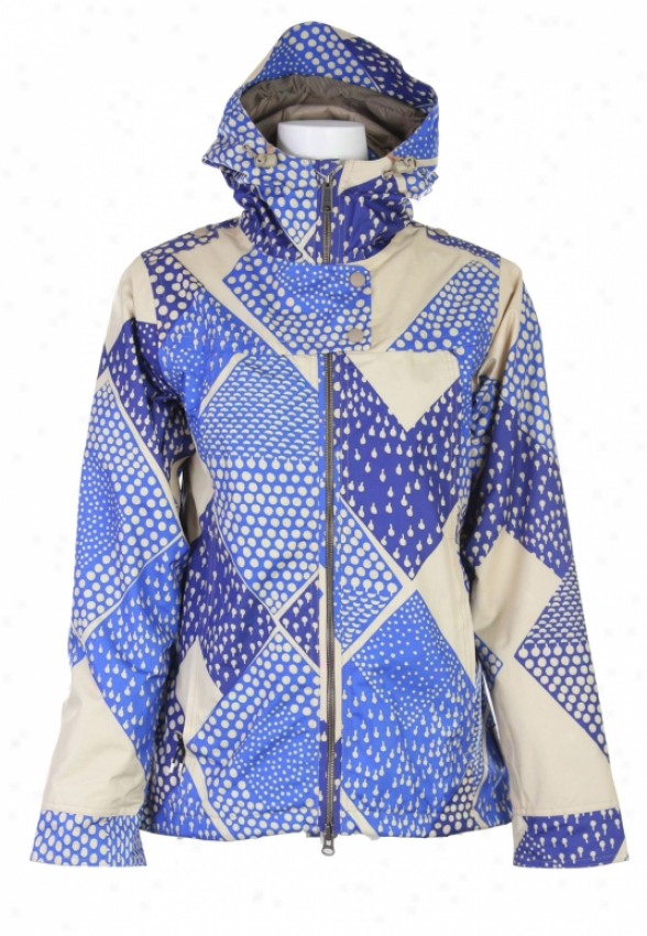 Holden Luna Snowboard Jacket Twill Native Print
