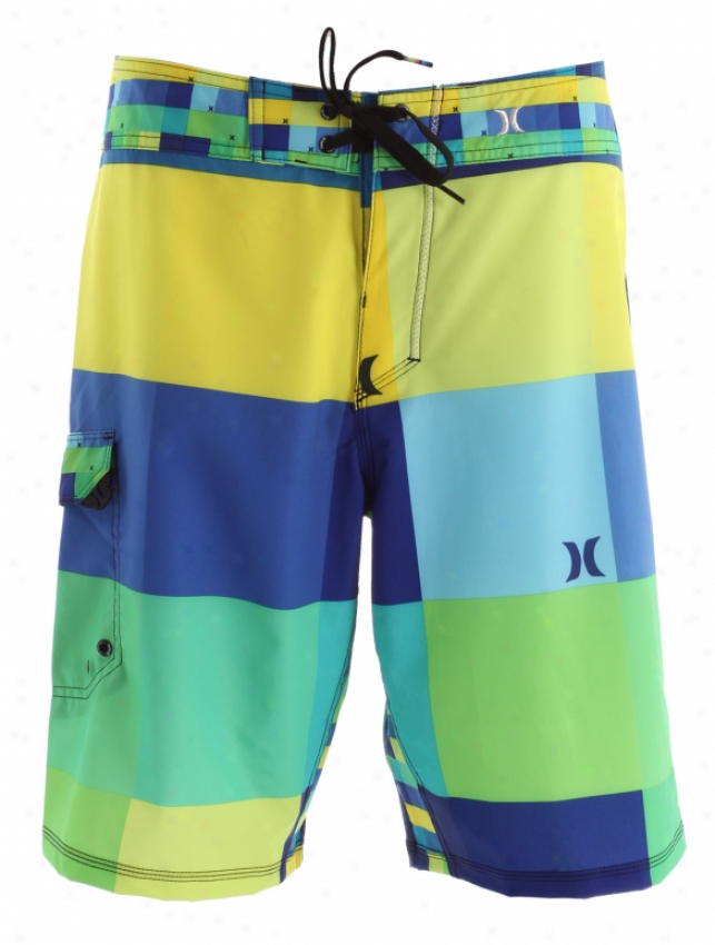 Hurley Phantom Kingsroad Boardshorts Lime Twist