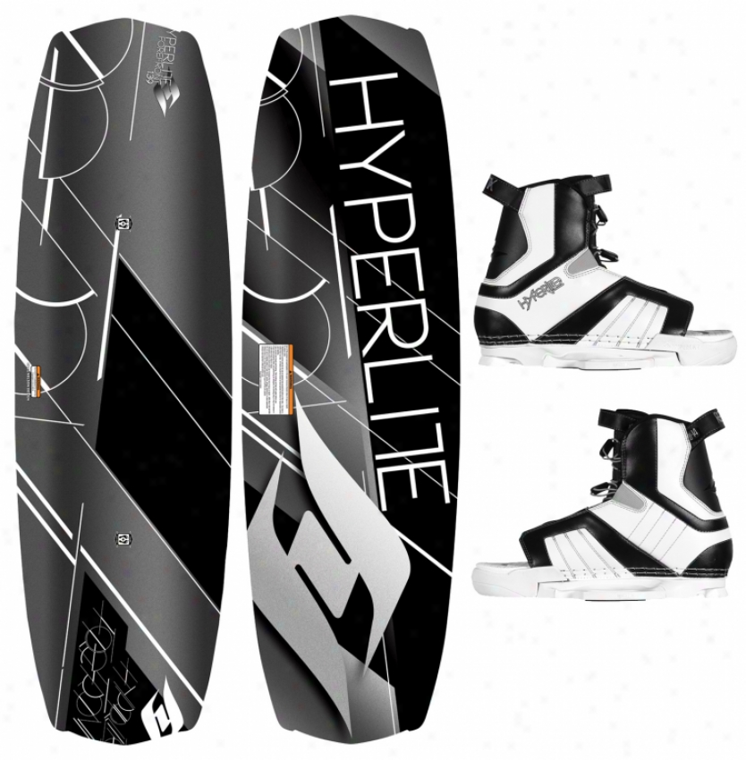 Hyperlite Forefront Wakeboard 139 W/ Remix Bindings