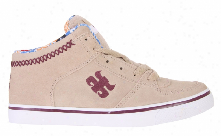 Ipath Reed Skate Shoes Sesame Suede