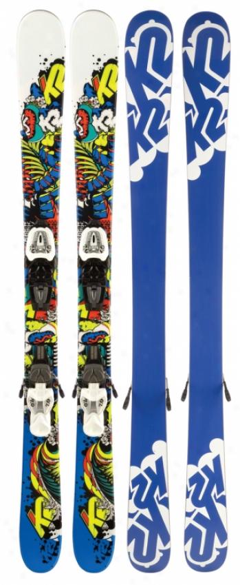K2 Juvy Skis W/ Fastrakc2 7.0 Bindings