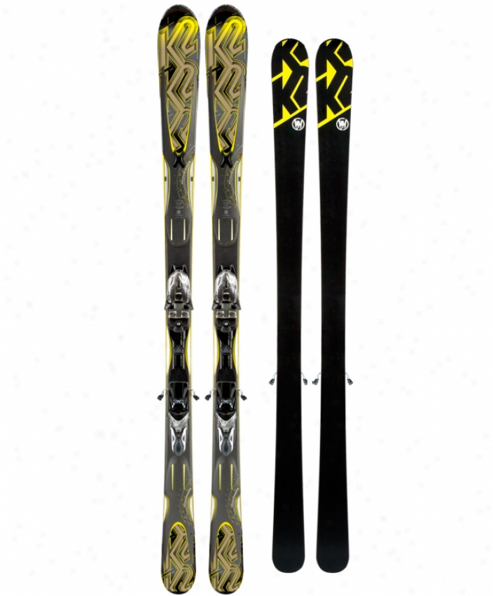 K2 Shockwave Skis W/ M2 11 Tc Bindings