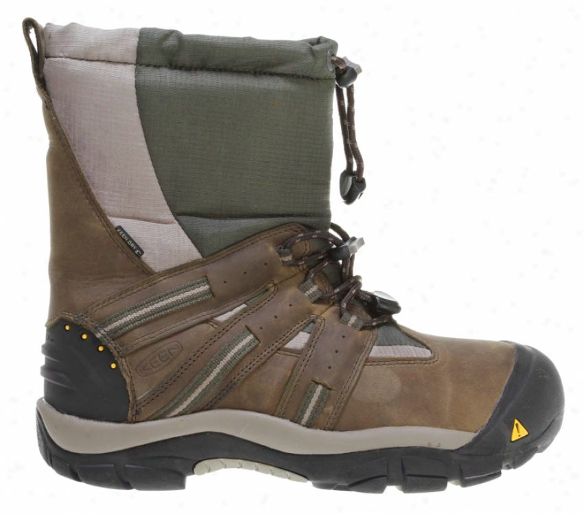 Keen Brixen Boots Black Olive/forest Night