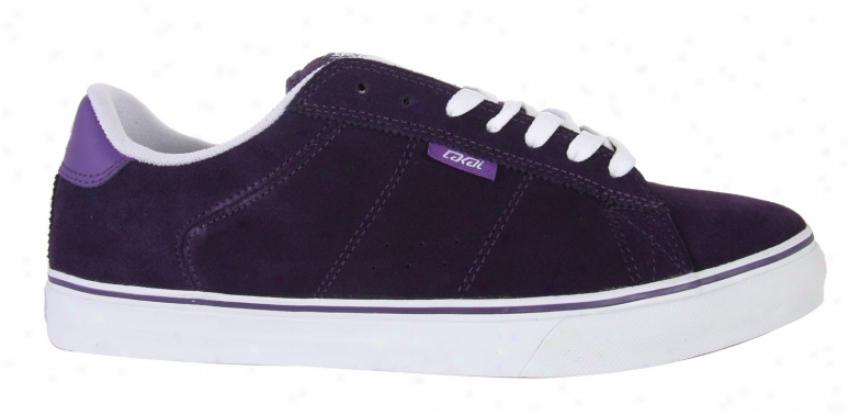 Lakai Howard Select Skate Shoeq Purple