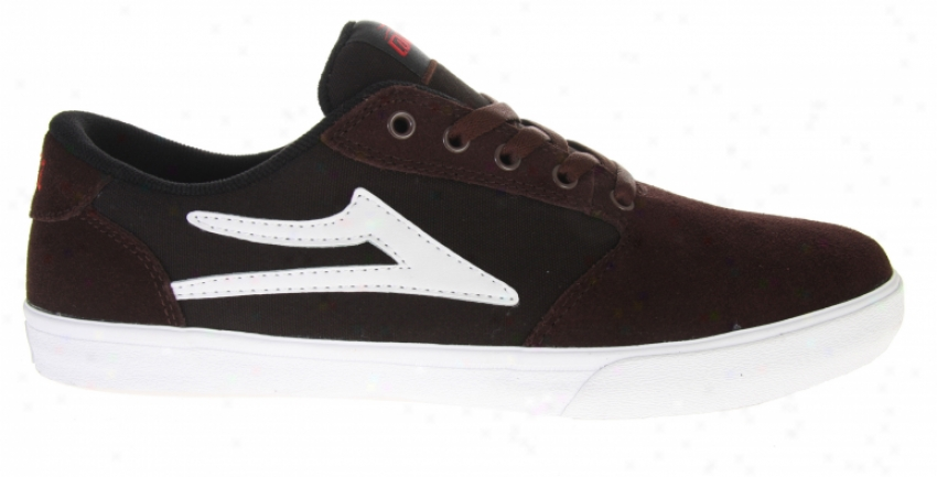 Lakai Pico Siate Shoes Brown/black Suede