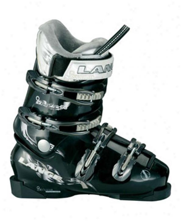 Lange Exclusive 60 Ski Boots Black