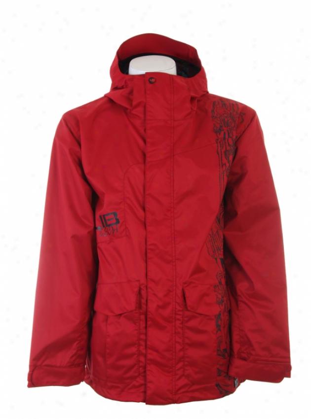 Lib Tech Born Again Snowboard Jacket Red