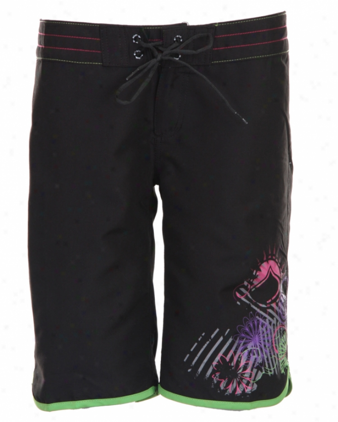Liquid Efficacy Diva Boardshort Black