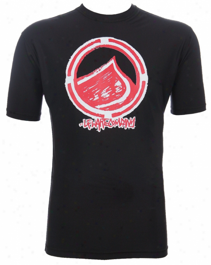 Liquid Force Drop S/s Water Shirt Black