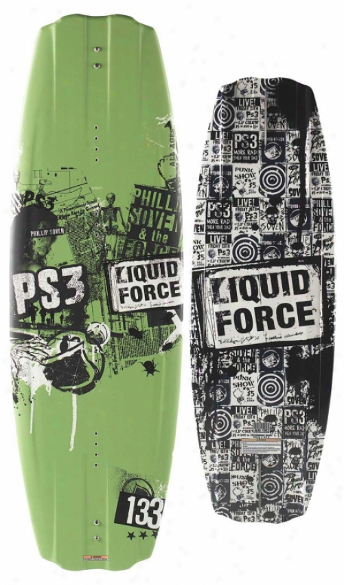 Liquid Force Ps3 Wakeboard 133 Blem