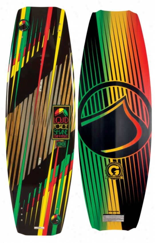 Liquid Force Shane Hybric Wakeboard 138